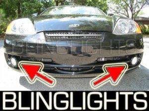 2003 2004 HYUNDAI TIBURON COUPE XENON FOG LIGHTS DRIVING LAMPS LIGHT LAMP KIT BASE GT V6