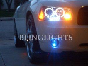 DODGE CHARGER LED FOG LIGHTS LAMPS LIGHT LAMP KIT 06 07 08 09 SE SXT R/T DAYTONA RT H P PACKAGE AWD