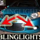 2009 CHEVROLET AVEO5 FOG LIGHTS PAIR driving lamp chevy