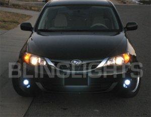 2008 2009 2010 SUBARU IMPREZA XENON FOG LIGHTS DRIVING LAMPS LIGHT LAMP KIT 2.5i 2.5GT