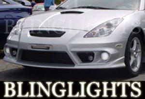 2000-2005 TOYOTA CELICA SILK AUTOMOTIVE BODY KIT BUMPER FOG LIGHTS LIGHT LAMPS 2001 2002 2003 2004