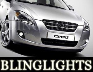 2007 2008 2009 KIA CEE'D XENON FOG LIGHTS DRIVING LAMPS LAMP LIGHT KIT ceed cee d s gs ls