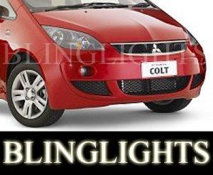 2003-2009 MITSUBISHI COLT FOG LIGHTS lamps cabriolet turbo 2004 2005 2006 2007 2008