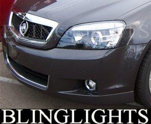 2006-2009 HOLDEN STATESMAN FOG LIGHTS LAMPS alloytec 2007 2008