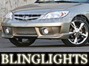 2004-2007 HONDA CIVIC EREBUNI BODY KIT FOG LIGHTS LAMPS 2005 2006