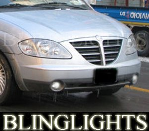 2004-2008 SSANGYONG STAVIC FOG LIGHTS LAMPS sv270 xdi 2005 2006 2007