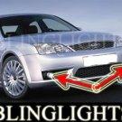 2007-2008 FORD MONDEO FOG LIGHTS lamps lx zetec xr5 turbo