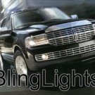 2007-2009 LINCOLN NAVIGATOR LED FOG LIGHTS LAMPS LAMP L 2008