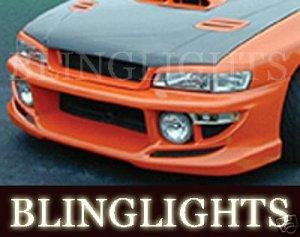 1995-2001 SUBARU IMPREZA EREBUNI BODY KIT BUMPER FOG LIGHTS LAMPS LAMP 1996 1997 1998 1999 2000