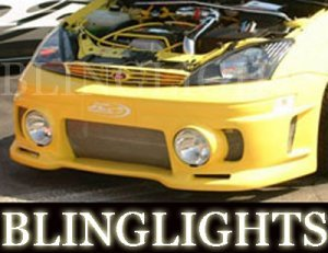 FORD FOCUS JUNBUG BUMPER BODY FOG LIGHTS DRIVING LAMPS LAMP LIGHT KIT 2000 2001 2002 2003 2004