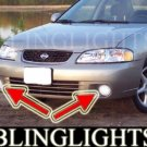 2000 2001 NISSAN SENTRA SE LED FOG LIGHTS DRIVING LAMPS BUMPER LIGHT SET LAMP KIT PAIR 00 01