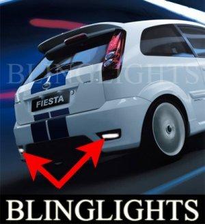 2002-2008 FORD FIESTA XR4 REAR FOG LIGHTS DRIVING LAMPS LIGHT LAMP KIT 2003 2004 2005 2006