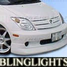 2003-2007 SCION XA EXTREME DIMENSION BODY KIT ANGEL EYE BUMPER FOG LIGHTS LAMPS KIT 2004 2005 2006