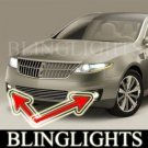 2009 LINCOLN MKS BUMPER FOG LIGHTS driving lamps sedan
