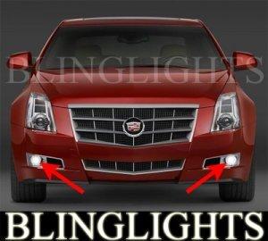 2008 2009 2010 CADILLAC CTS XENON FOG LIGHTS DRIVING LAMPS LIGHT LAMP KIT