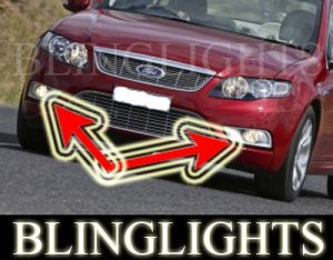 2009 FORD FALCON G6 BUMPER FOG LIGHTS PAIR driving lamp