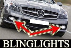 2009 MERCEDES-BENZ SL-CLASS BUMPER FOG LIGHTS PAIR lamp