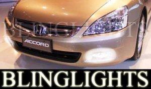 2003-2007 HONDA ACCORD FOG LIGHTS DRIVING LAMPS LIGHT LAMP KIT coupe sedan 2004 2005 2006