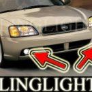 2003 2004 SUBARU LEGACY SEDAN XENON FOG LIGHTS DRIVING LAMPS LAMP LIGHT KIT