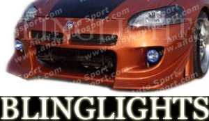2001 2002 CHRYSLER SEBRING AAS BODY KIT FOG LIGHTS BUMPER DRIVING LAMPS LIGHT LAMP