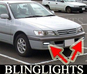 1996-2001 TOYOTA CORONA FOG LIGHTS DRIVING LAMPS LIGHT LAMP KIT premio 2000
