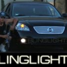 2002 2003 2004 NISSAN ALTIMA ANGEL EYE FOG LIGHTS HALO LAMPS LIGHT LAMP KIT 2.5 3.5 S SE SL 02 03 04