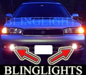 1995-1999 SUBARU LEGACY SEDAN WAGON FOG LIGHTS DRIVING LAMPS LIGHT LAMP KIT 1996 1997 1998