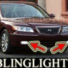 2009 HYUNDAI AZERA FOG LIGHTS DRIVING LAMPS LIGHT LAMP KIT driving lamps lights kit gls limited