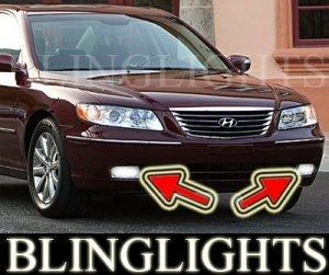 2009 HYUNDAI AZERA FOG LIGHTS DRIVING LAMPS LIGHT LAMP KIT driving lamps lights kit gls limited