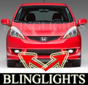 2007 2008 2009 2010 HONDA FIT SPORT XENON FOG LIGHTS DRIVING LAMPS LIGHT LAMP KIT