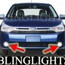 2008 2009 2010 FORD FOCUS SES SEDAN XENON BUMPER FOG LIGHTS DRIVING LAMPS LAMP LIGHT KIT