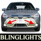 2008 FORD FOCUS COUPE S XENON FOG LIGHTS BUMPER DRIVING LAMPS LIGHT LAMP KIT 08