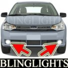 2008 2009 2010 FORD FOCUS S SEDAN BUMPER XENON FOG LIGHTS DRIVING LAMPS LIGHT LAMP KIT