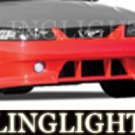 1999-2004 FORD MUSTANG ROUSH BODY KIT FOG LIGHTS LAMPS 2000 2001 2002 2003