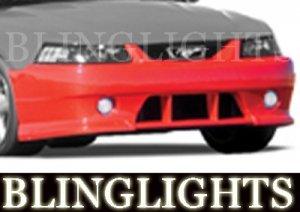 1999-2004 FORD MUSTANG ROUSH BODY KIT FOG LIGHTS LAMPS 2000 2001 2002 2003