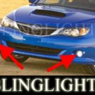 2008 2009 2010 SUBARU IMPREZA XENON FOG LIGHTS DRIVING LAMPS LIGHT LAMP KIT WRX 4DR 5DR STI