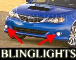 2008 2009 2010 SUBARU IMPREZA XENON FOG LIGHTS DRIVING LAMPS LIGHT LAMP KIT WRX 4DR 5DR STI
