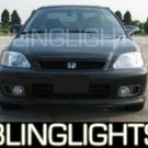 HONDA CIVIC SI XENON FOG LIGHTS PAIR 1999 2000 2001 2002 lamps