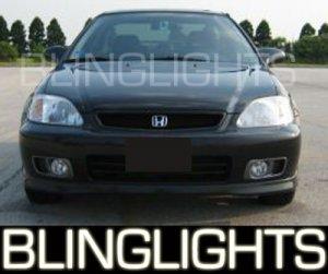 HONDA CIVIC SI XENON FOG LIGHTS PAIR 1999 2000 2001 2002 lamps
