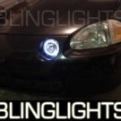 1993-1997 HONDA DEL SOL ANGEL EYES FOG LIGHTS HALOS DRIVING LAMPS LIGHT LAMP KIT 1994 1995 1996