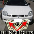 2001-2005 DODGE NEON SE FOG LIGHTS DRIVING LAMPS LIGHT LAMP KIT 2002 2003 2004