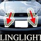 2000-2004 FORD FOCUS 5DR WAGON SE XENON FOG LIGHTS DRIVING LAMPS LIGHT LAMP KIT 2001 2002 2003