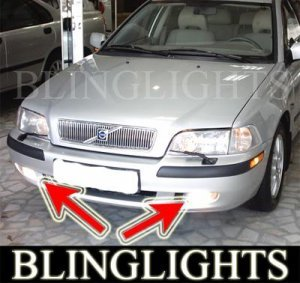 1995-2003 VOLVO S40 2.0T XENON FOG LIGHTS DRIVING LAMPS LIGHT KIT 1996 1997 1998 1999 2000 2001 2002