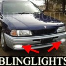 1994-1998 NISSAN WINGROAD FOG LIGHTS DRIVING LAMPS LIGHT LAMP KIT driving lamps 1995 1996 1997