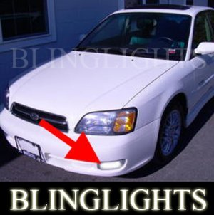 2000 2001 2002 SUBARU LEGACY GT WAGON SEDAN FOG LIGHTS DRIVING LAMPS LIGHT LAMP KIT
