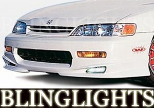 1994-1997 HONDA ACCORD WINGS WEST BODY KIT FOG LIGHTS DRIVING LAMPS LIGHT LAMP KIT 1995 1996
