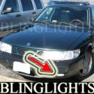 1994-1998 SAAB 900 S SE XENON FOG LIGHTS DRIVING LAMPS LIGHT LAMP KIT driving lamps 1995 1996 1997