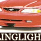 1994-1998 FORD MUSTANG ROUSH BODY KIT XENON FOG LIGHTS DRIVING LAMPS LIGHT LAMP KIT1995 1996 1997