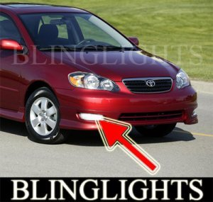 2003-2008 TOYOTA COROLLA-S FOG LIGHTS DRIVING LAMPS LIGHT LAMP KIT lamp sport 2004 2005 2006 2007