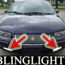 1995-2000 CHRYSLER CIRRUS FOG LIGHTS DRIVING LAMPS LIGHT LAMP KIT lamps lx lxi 1996 1997 1998 1999